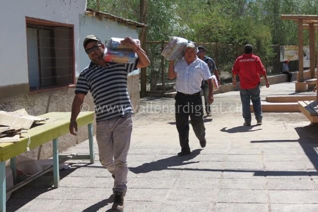 Voluntarios en Alto del Carmen (5)
