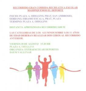 RECORRIDO CORRIDA ESCOLAR 001