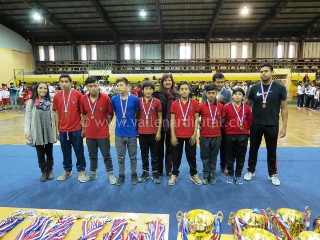 Juegos Deportivos Escolares en Vallenar (2)